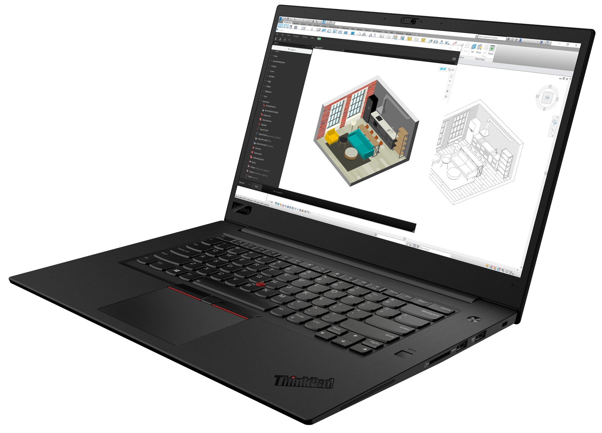 top laptops for architects lenovo p1