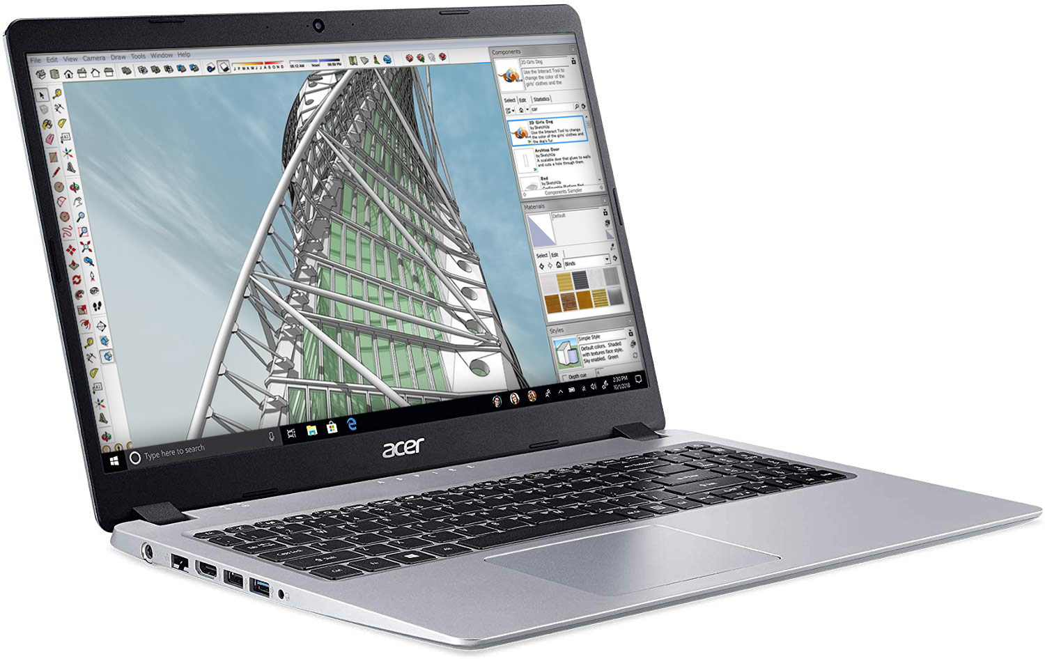 top laptops for architects acer