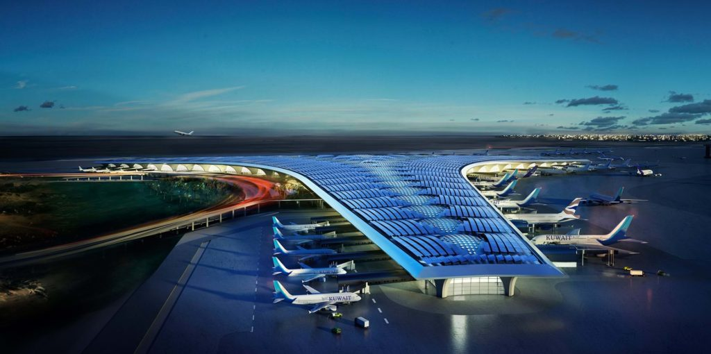 Kuwait Airport by Foster + Partners