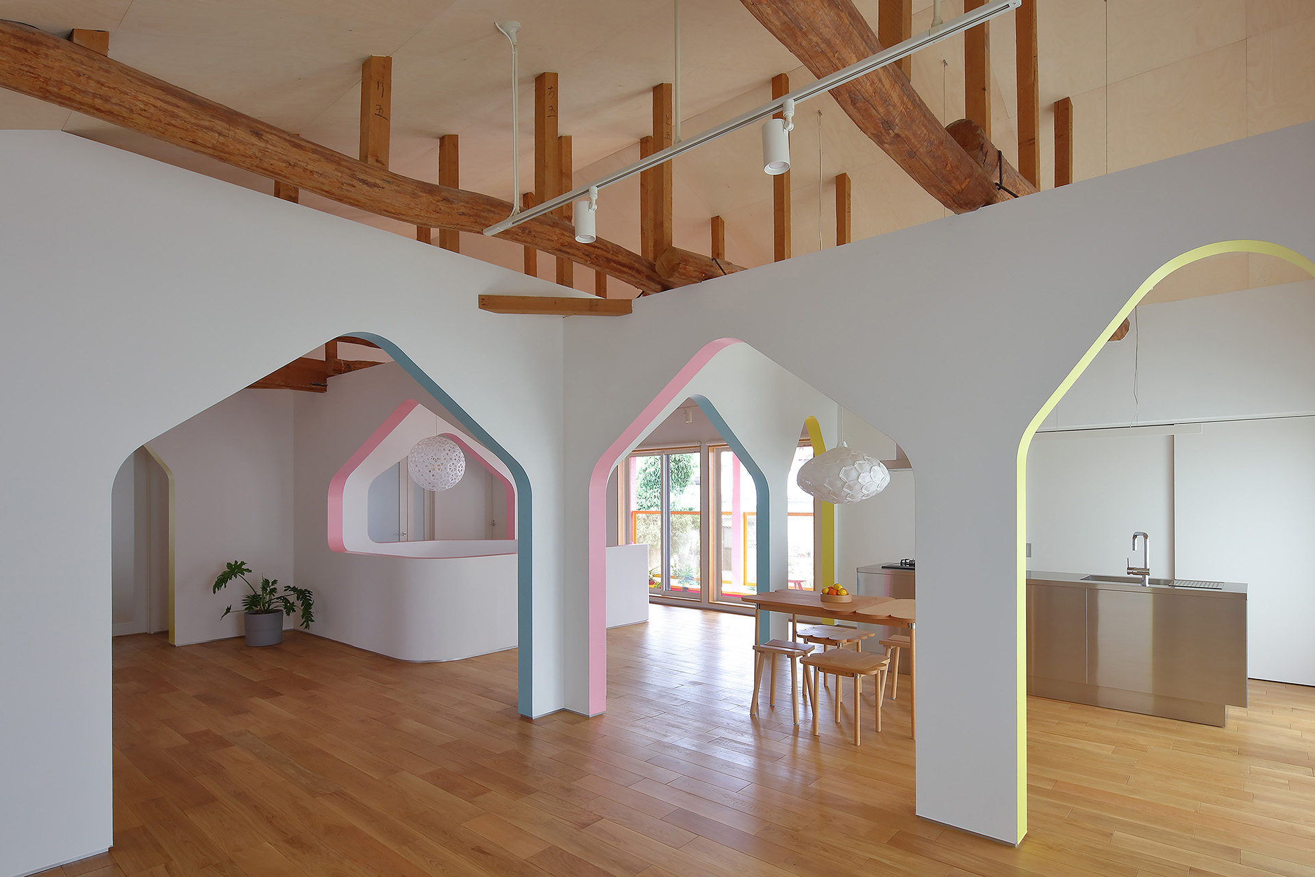 House of Many Arches by 24d-studio, Kobe, Japan arch
